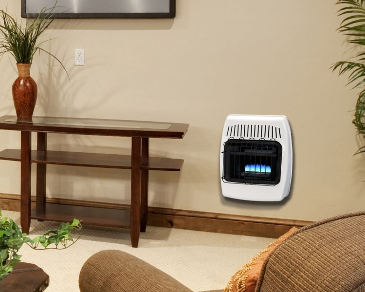 BF10NMDG Dyna-Glo 10,000 BTU Natural Gas Blue Flame Vent Free Wall Heater