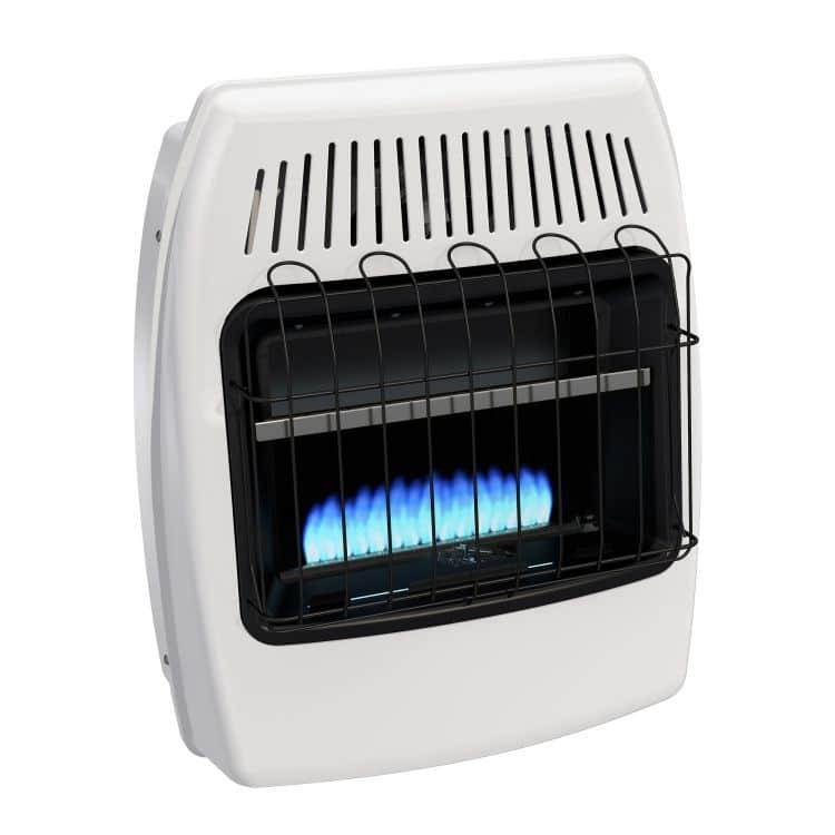 BF20PMDG Dyna-Glo 20,000 BTU Liquid Propane Blue Flame Vent Free Wall Heater profile