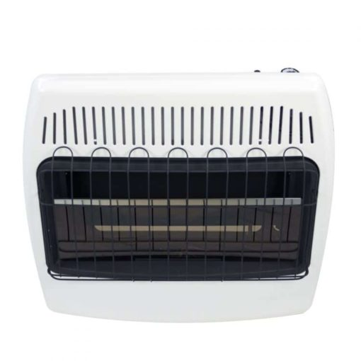 BF30NMDG Dyna-Glo 30,000 BTU Natural Gas Blue Flame Vent Free Wall Heater front
