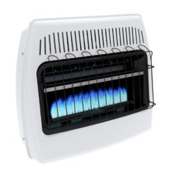 BF30NMDG Dyna-Glo 30,000 BTU Natural Gas Blue Flame Vent Free Wall Heater - product