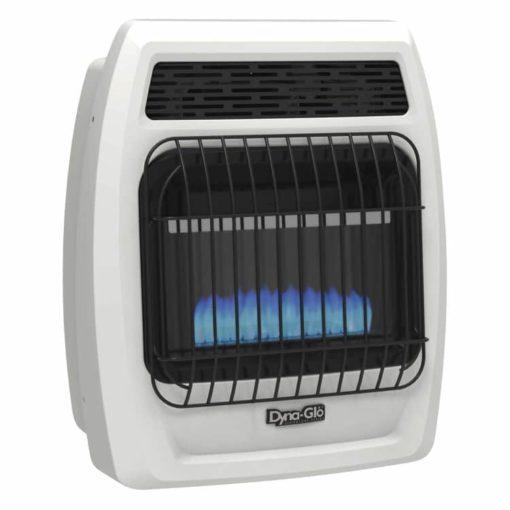 BFSS10LPT-2P Dyna-Glo 10K BTU LP Blue Flame Vent Free T-stat Wall Heater -