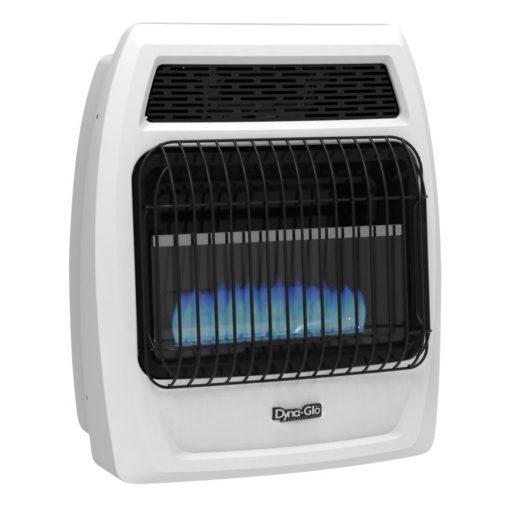 BFSS20LPT-2P Dyna-Glo 20K BTU LP Blue Flame Vent Free T-stat Wall Heater