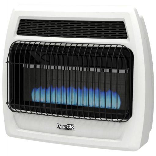 BFSS30LPT-2P Dyna-Glo 30K BTU LP Blue Flame Vent Free T-stat Wall Heater