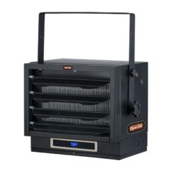 Dyna-Glo EG7500DH Dual Heat 7500W Electric Garage Heater -angle