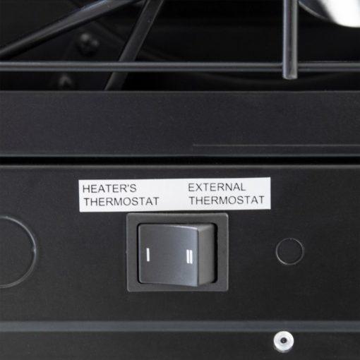 Dyna-Glo EG7500DH Dual Heat 7500W Electric Garage Heater - thermostat switch