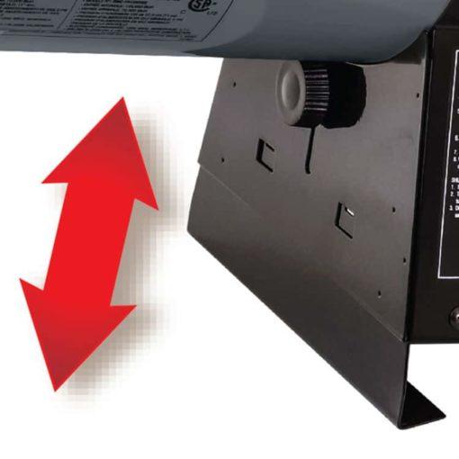 Dyna-Glo Delux 70K - 125K BTU LP Forced Air Heater - RMC-FA125DGD 1