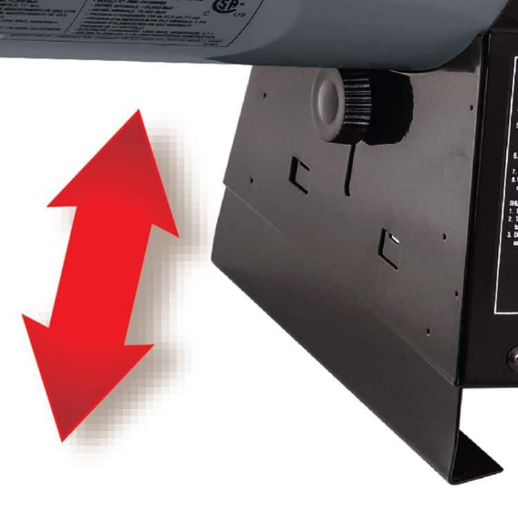 Dyna-Glo Delux 70K - 125K BTU LP Forced Air Heater - RMC-FA125DGD 3