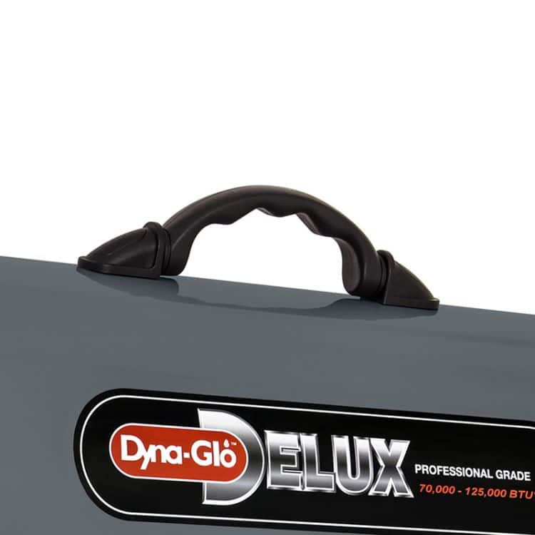 Dyna-Glo RMC-FA125DGD Delux 70K - 125K BTU LP Forced Air Heater - handle