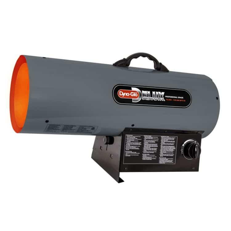Dyna-Glo RMC-FA125DGD Delux 70K - 125K BTU LP Forced Air Heater