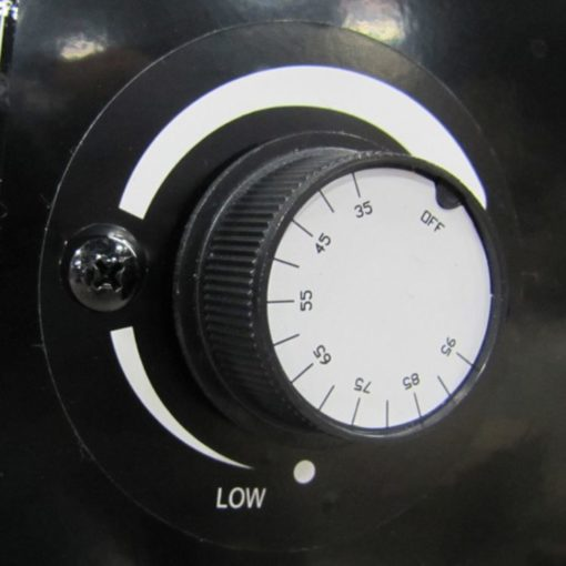 Dyna-Glo RMC-FA300DGD Delux 300K BTU LP Forced Air Heater-dial