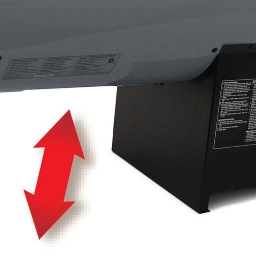 Dyna-Glo RMC-FA300DGD Delux 300K BTU LP Forced Air Heater-gap