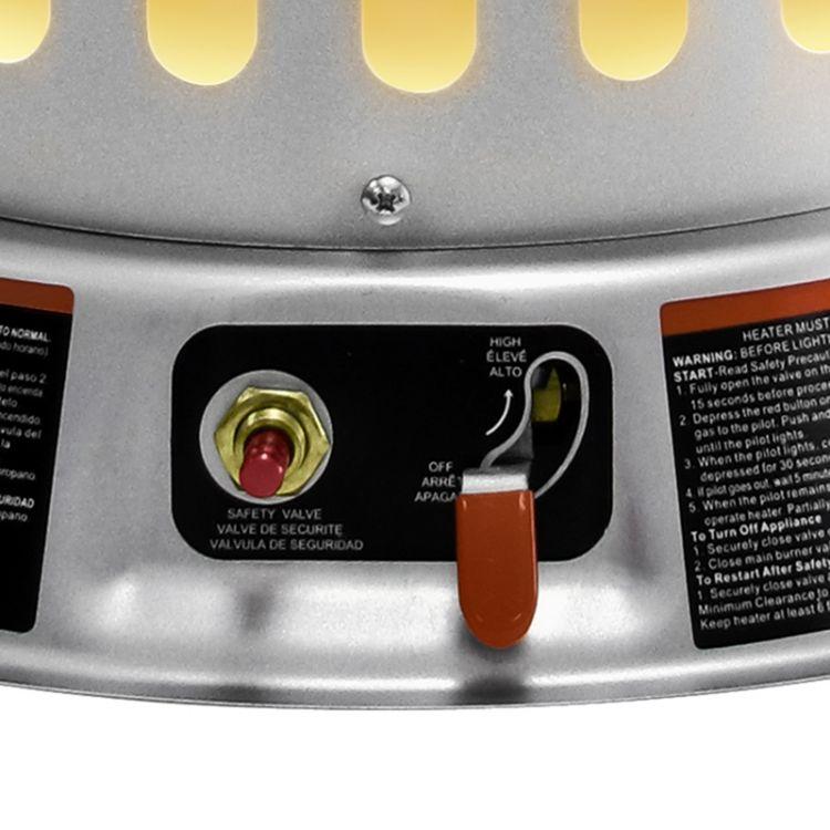 Dyna-Glo RMC-LPC200DG 200,000 BTU LP Convection Heater - ignition