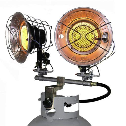 Dyna-Glo TT30CDGP 30,000 BTU LP Tank Top Heater - dual burner