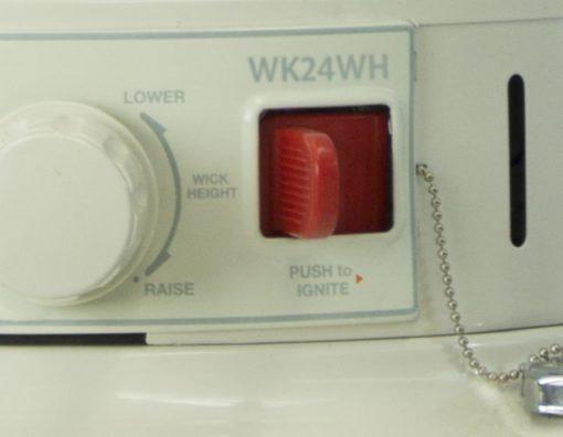 Dyna-Glo WK24WH 23,000 BTU Indoor Kerosene Convection Heater-ignition