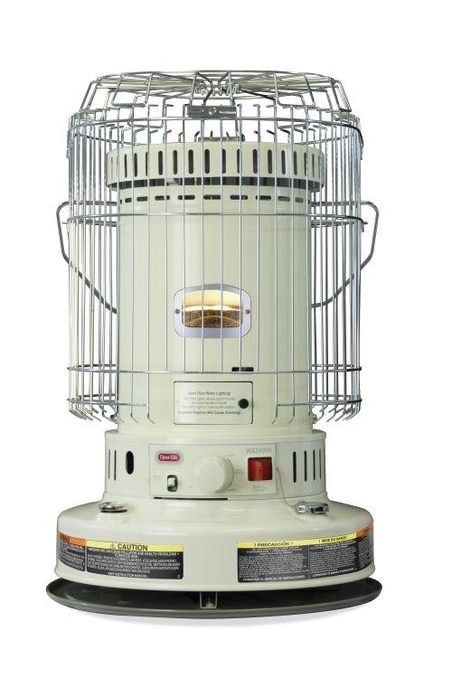 Dyna-Glo WK24WH 23,000 BTU Indoor Kerosene Convection Heater