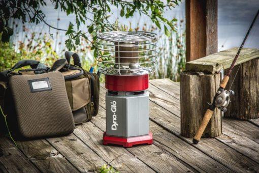 HA1360R Dyna-Glo HeatAround 360 Red lifestyle -fishing