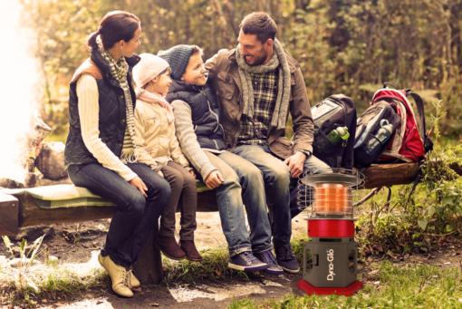 HA2360BK - Dyna-Glo HeatAround 360 Elite Red - camping