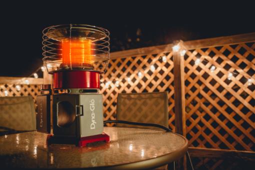 HA2360BK - Dyna-Glo HeatAround 360 Elite Red - patio