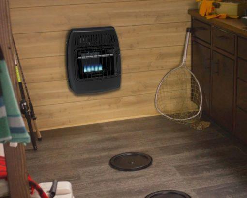 IBF10PMDG Dyna-Glo 10,000 BTU Liquid Propane Blue Flame Vent Free Ice House Heater