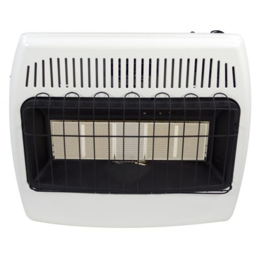 IR30NMDG-1 Dyna-Glo 30,000 BTU Natural Gas Vent Free Infrared Wall Heater - front