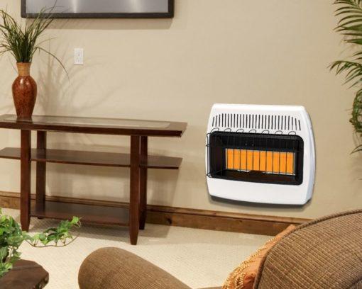 IR30PMDG-1 Dyna-Glo 30,000 BTU Liquid Propane Infrared Vent Free Wall Heater - lifestyler