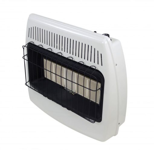 IR30PMDG-1 Dyna-Glo 30,000 BTU Liquid Propane Infrared Vent Free Wall Heater - side shot