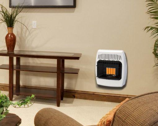 IR6NMDG-1 Dyna-Glo 6K BTU NG Infrared Vent Free Wall Heater