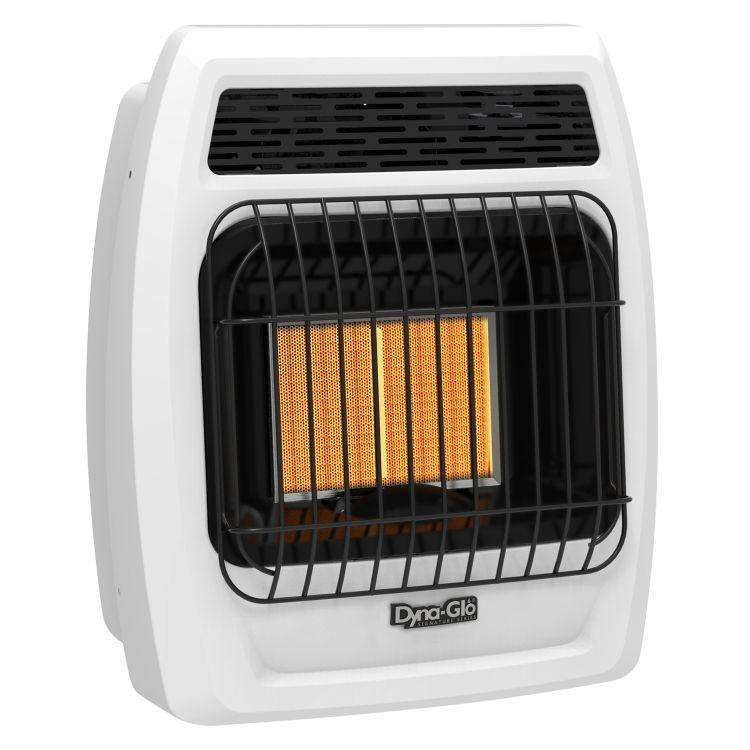 IRSS12LPT-2P Dyna-Glo 12K BTU LP Infrared Vent Free T-stat Wall Heater