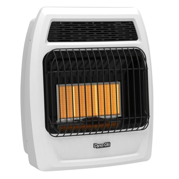 IRSS18LPT-2P Dyna-Glo 18K BTU LP Infrared Vent Free T-stat Wall Heater