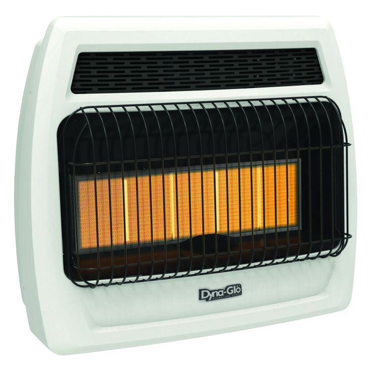 IRSS30NGT-2N Dyna-Glo 30K BTU NG Infrared Vent Free T-stat Wall Heater
