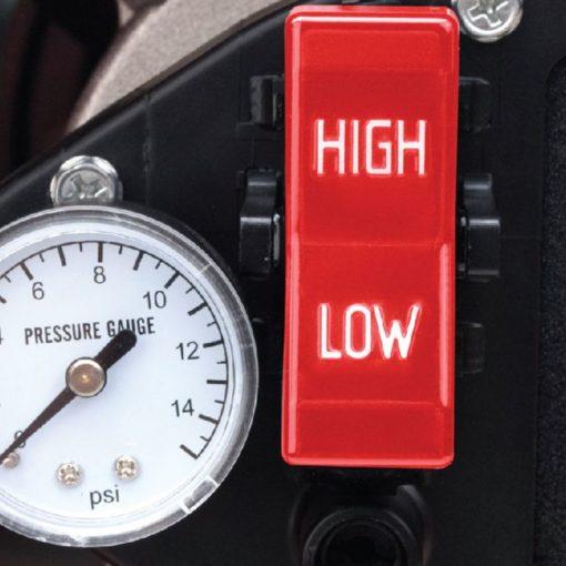 Dyna-Glo Delux KFA135DGD 95K or 135K BTU Kerosene Forced Air Heater - high low switch