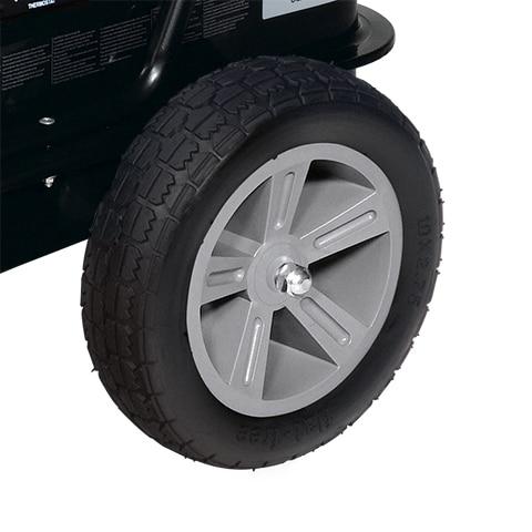 Dyna-Glo Delux KFA135DGD 95K or 135K BTU Kerosene Forced Air Heater - wheels
