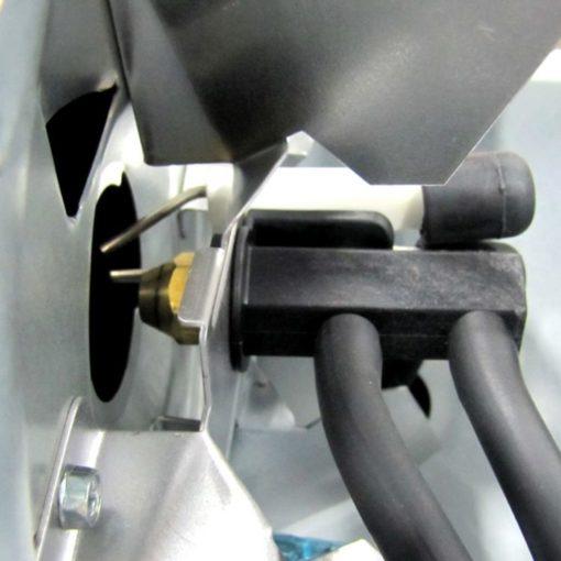 Dyna-Glo Delux KFA180DGD 140K or 180K BTU Kerosene Forced Air Heater closeup