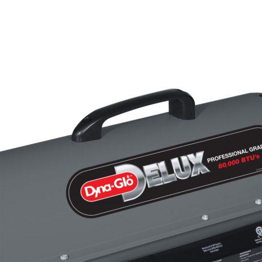Dyna-Glo Delux KFA80DGD 80K BTU Kerosene Forced Air Heater - handle