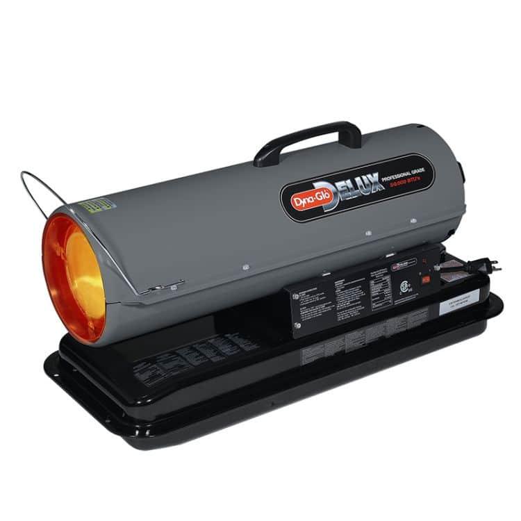 Dyna-Glo KFA50DGD 50,000 BTU Kerosene Forced Air Heater-runtime indicator