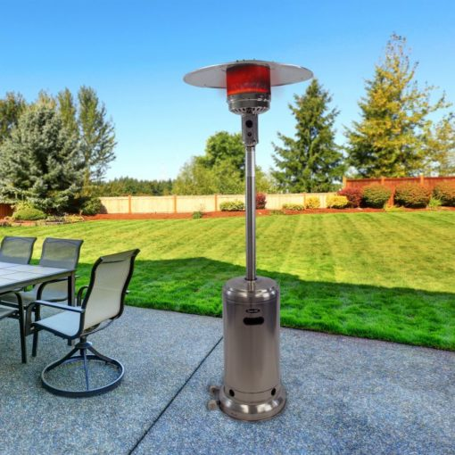 Dyna-Glo 41,000 BTU Deluxe Stainless Steel Patio Heater - DGPH102SS 3