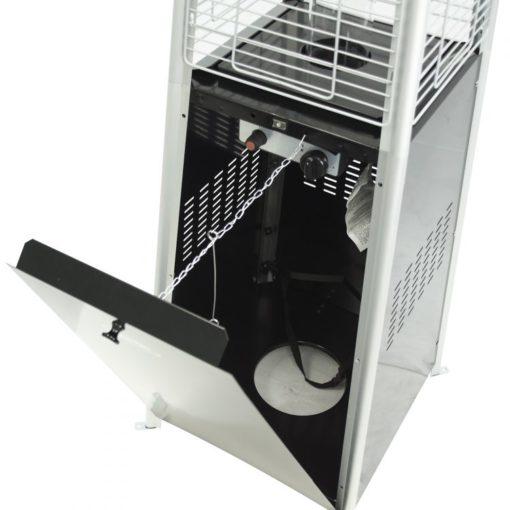 Dyna-Glo 42,000 BTU Black Pyramid Flame Patio Heater - DGPH301BL 6