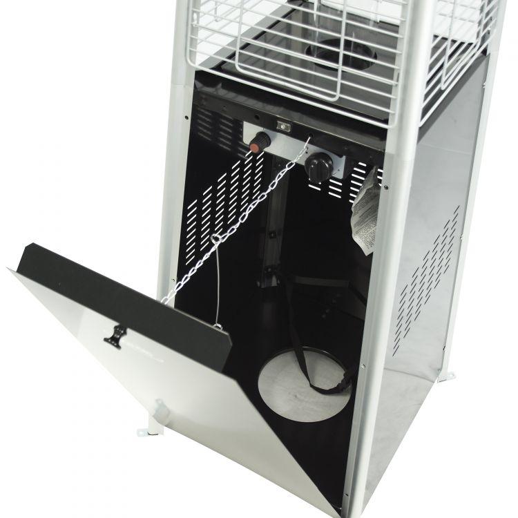 Dyna-Glo 42,000 BTU Black Pyramid Flame Patio Heater - DGPH301BL 22