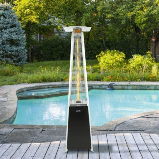 Dyna-Glo 42,000 BTU Black Pyramid Flame Patio Heater - DGPH301BL 3