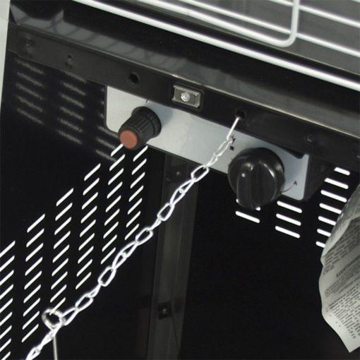 Dyna-Glo 42,000 BTU Black Pyramid Flame Patio Heater - DGPH301BL 7