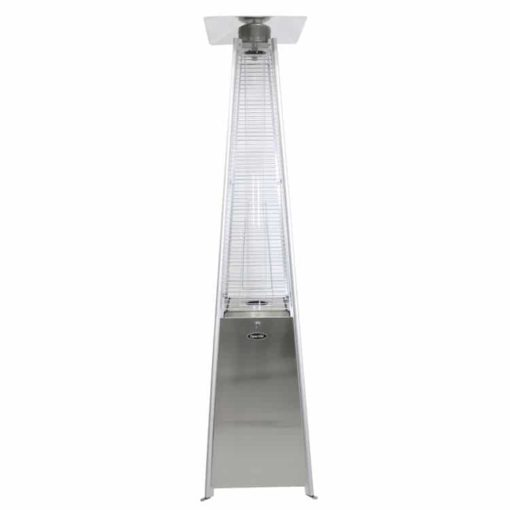 Dyna-Glo 42,000 BTU Stainless Steel Pyramid Flame Patio Heater - DGPH302SS 1