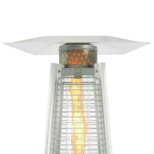 Dyna-Glo 42,000 BTU Stainless Steel Pyramid Flame Patio Heater - DGPH302SS 4