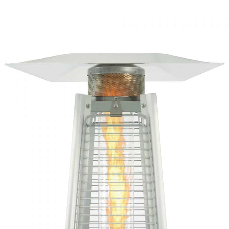 Dyna-Glo 42,000 BTU Stainless Steel Pyramid Flame Patio Heater - DGPH302SS 19