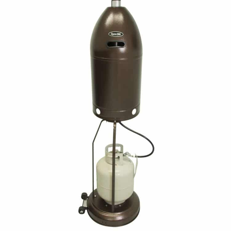 Dyna-Glo 48,000 BTU Premium Hammered Bronze Patio Heater - DGPH201BR 20