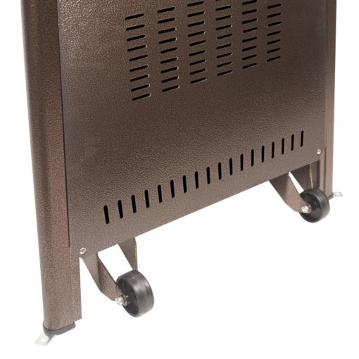 "Dyna Glo 42,000 BTU 73"" Hammered Bronze Pyramid Flame Patio Heater - DGPH401BR 10"