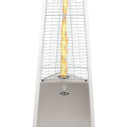 "Dyna Glo 42,000 BTU 73"" Stainless Steel Pyramid Flame Patio Heater - DGPH402SS 12"