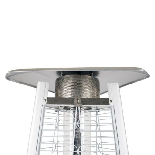 "Dyna Glo 42,000 BTU 73"" Stainless Steel Pyramid Flame Patio Heater - DGPH402SS 11"