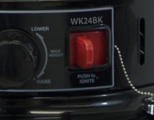 Dyna-Glo 23,800 BTU Indoor Kerosene Convection Heater - WK24BK 2